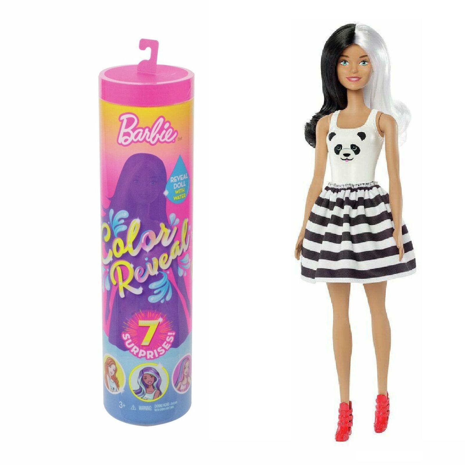 Boneca Barbie Fashionista Estilo Surpresa Cores Mágicas GPG14 Mattel