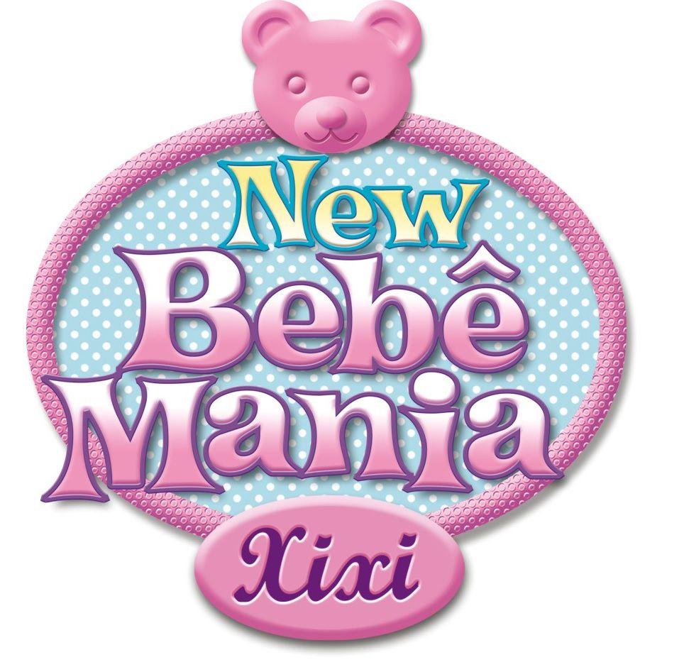 Boneca Bebê Branca New Mania Xixi Roma Jensen Ref. 5330