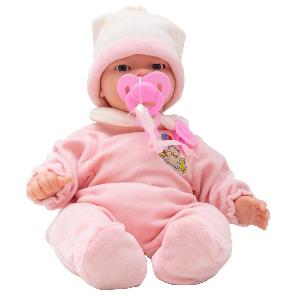 Boneca Bebê Carinhas Novabrink