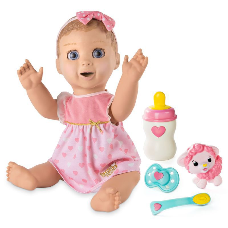 Boneca Bebê Luvabella com Expressões e Acessórios 1970 Sunny