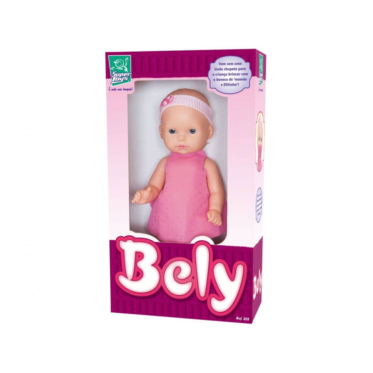 Boneca Bely Super Toys Ref. 222