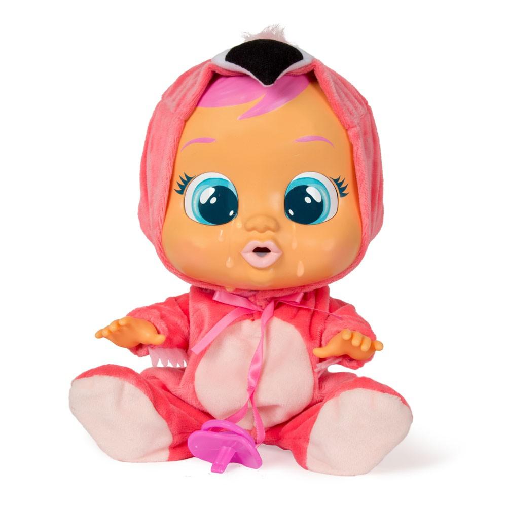 Boneca Cry Babies Sons e Lágrimas de Verdade Flamy Multikids