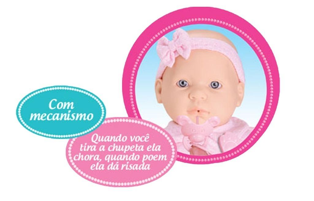 Boneca Jensen Baby By Roma Chora e Ri Ref. 5182