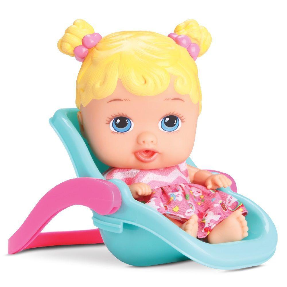Boneca Little Dolls Passeio Ref. 8027 Diver Toys