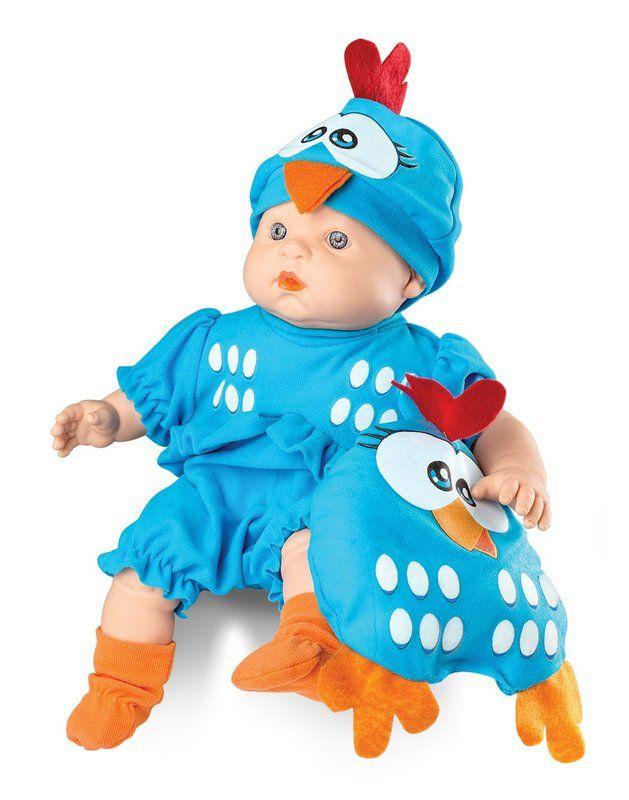 Boneca Meu Bebe Galinha Pintadinha Mini Roma Ref. 5604
