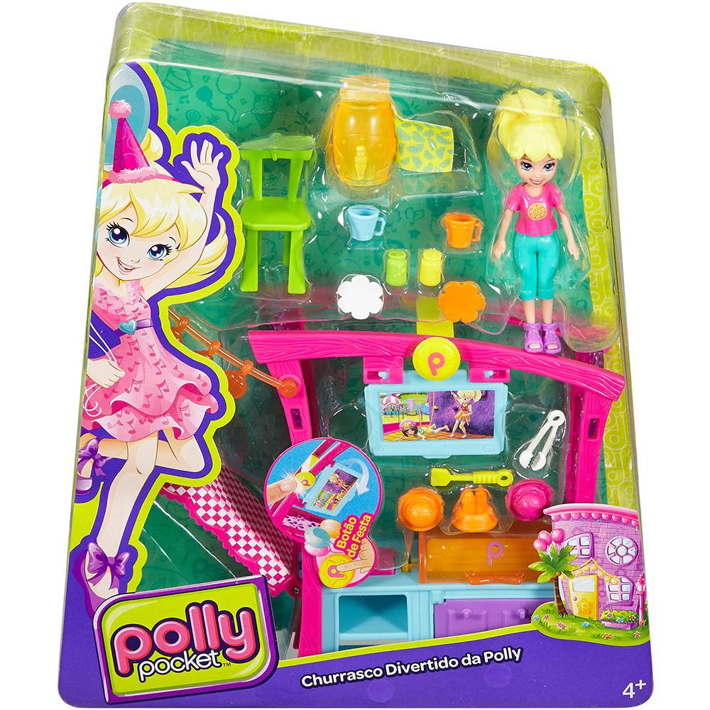Boneca Polly Churrasco Divertido DNB53 Mattel