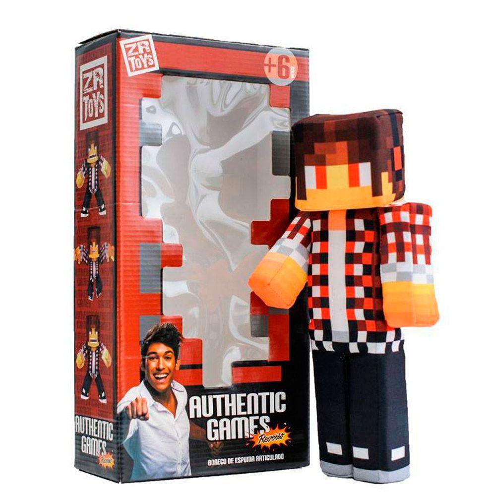 Boneco Articulado 35 Cm Authentic Games Reverso C3048 Zr Toys