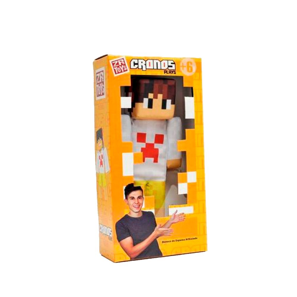 Boneco Articulado 35 Cm Cronos Play C3047 ZR Toys