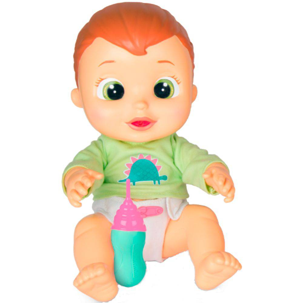 Boneco Baby Wee Max com Mamadeira 84512 Fun Divirta-se