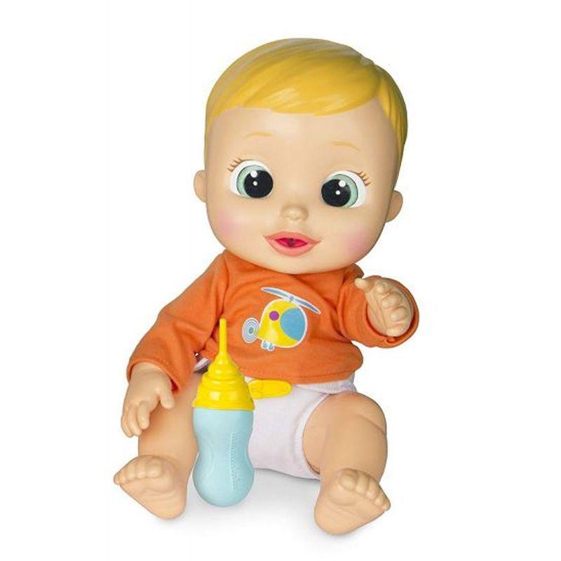 Boneco Baby Wee Nick com Mamadeira 84512 Fun Divirta-se