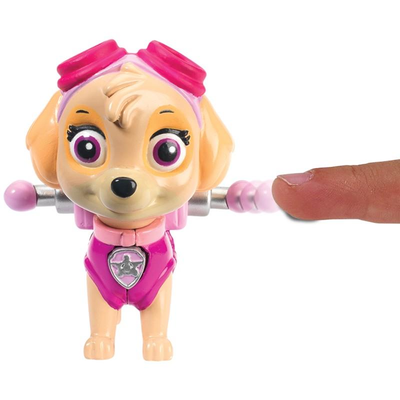 Boneco com Distintivo Patrulha Canina Skye Sunny Ref. 1301