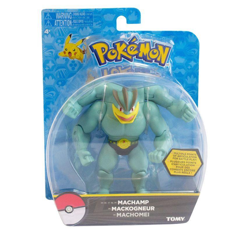 Boneco de Ação Pokémon 15 Cm Machamp 1960 Sunny