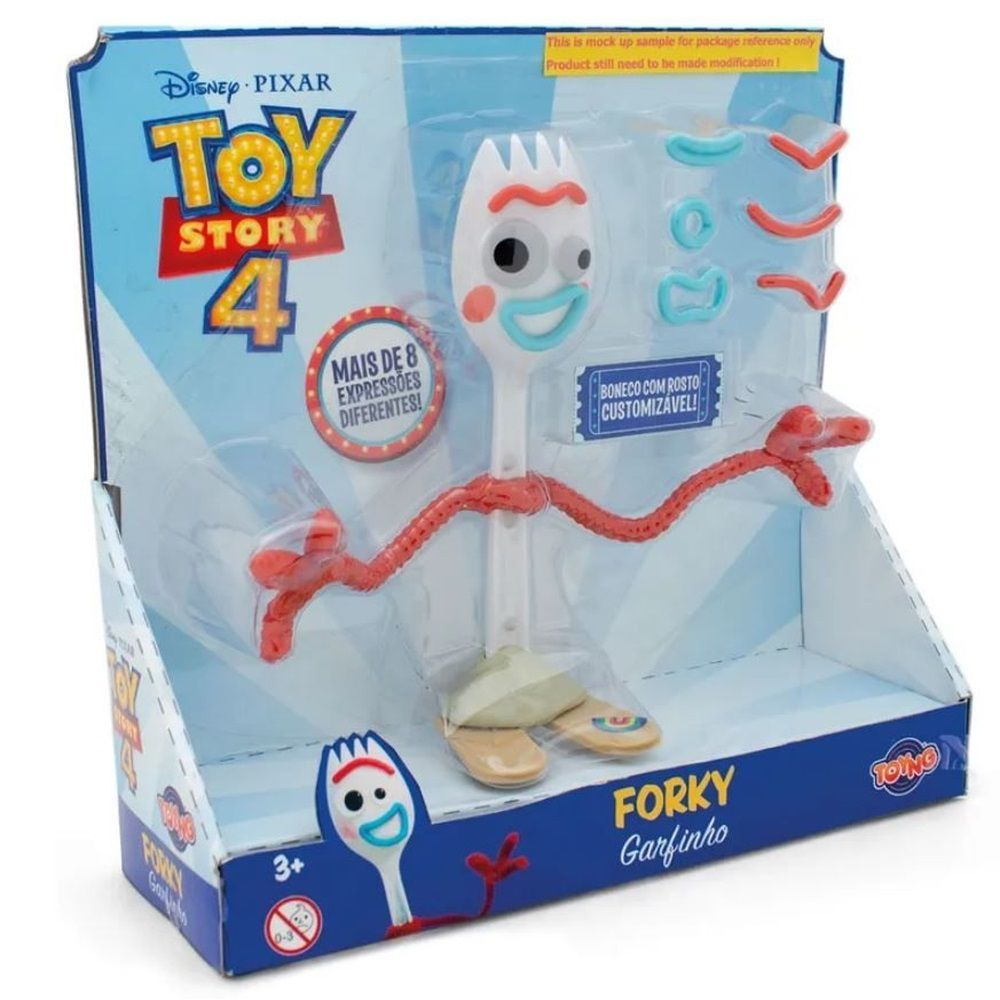 Boneco Forky Garfinho de Montar Toy Story 4 Toyng