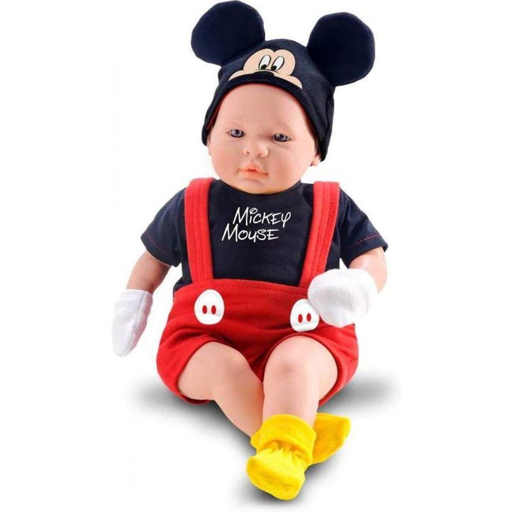 Boneco Mickey Classic Dolls Recém Nascido 5161 Roma