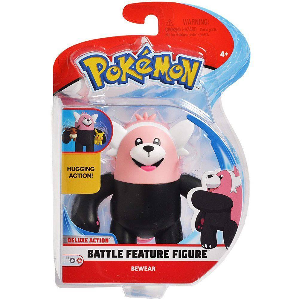 Boneco Pokemon Battle Feature Figura Bewear 4843 DTC