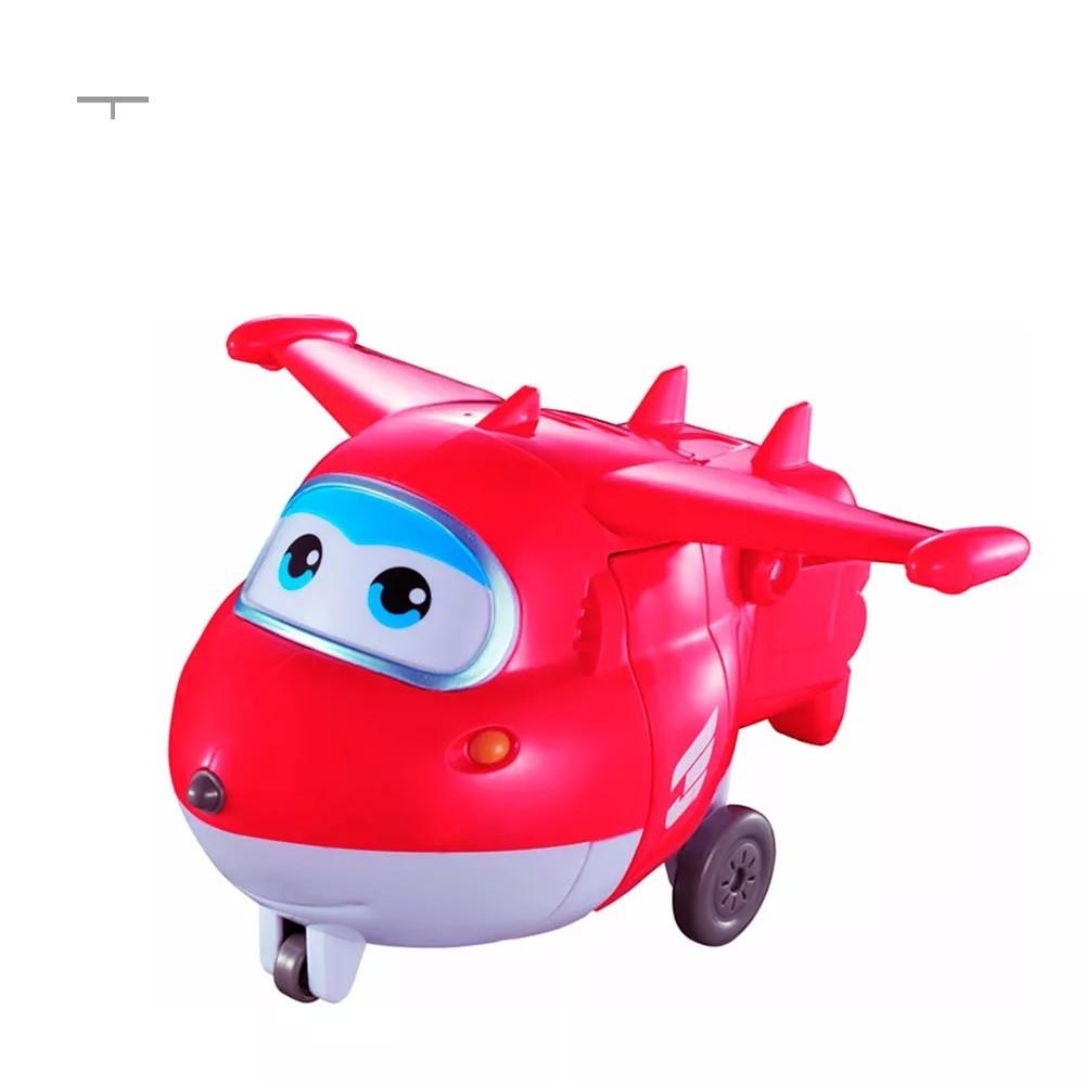 Boneco Super Wings Jett Grava e Fala Ref. 82416 Fun Divirta-se