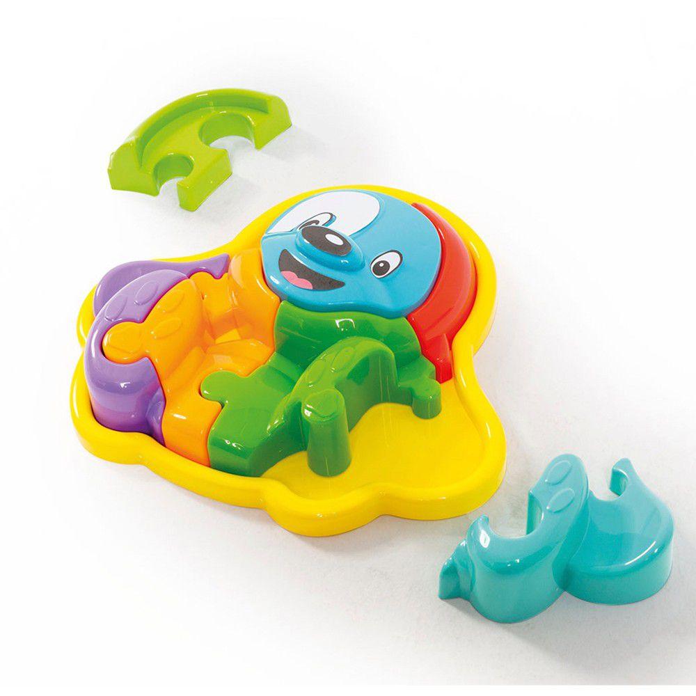 Brinquedo Animal Puzzle 3D Cachorro 855 Calesita
