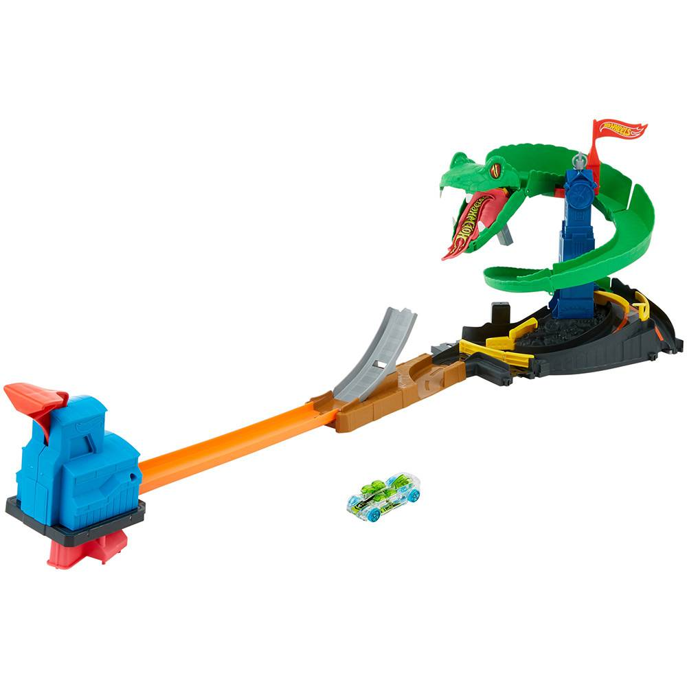 Brinquedo Hot Wheels Conjunto Ataque de Cobra City FNB20