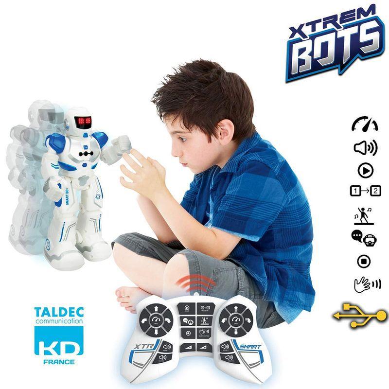 Brinquedo Robô com Controle Remoto Xtrem Bots Smart Bot 84511 Fun