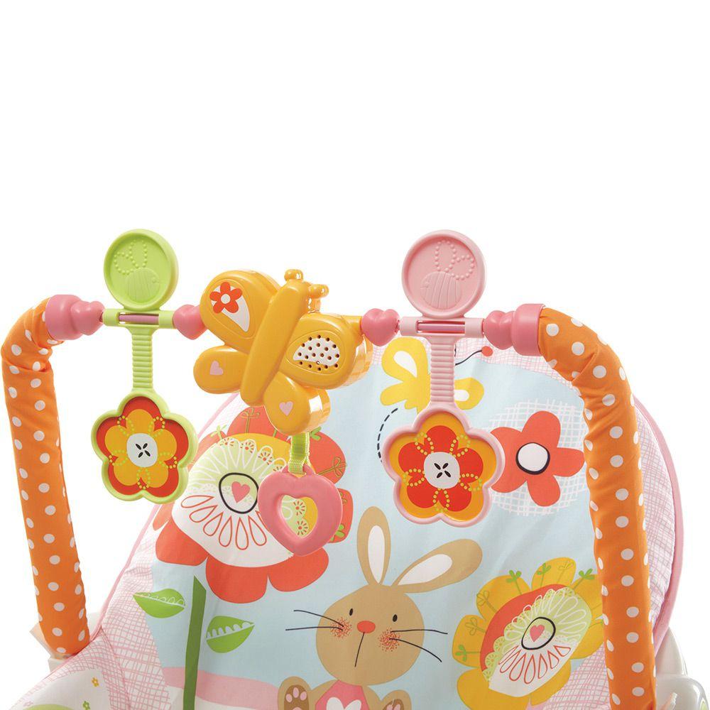 Cadeira de Descanso Bouncer Minha Infância Meninas Y4544 Fisher Price