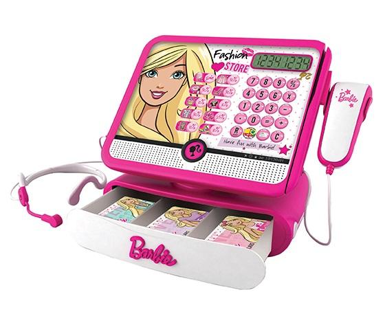Caixa Registradora Barbie Luxo BBCR2 72749 Fun Divirta-se