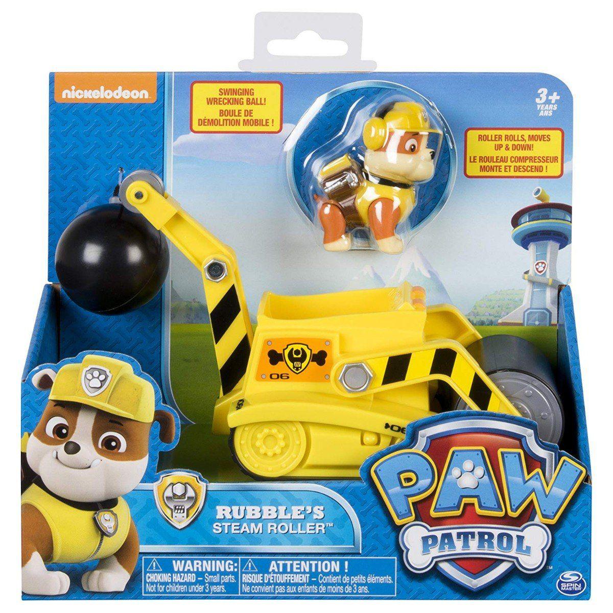 Carrinho Patrulha Canina com Rubble Steam Roller 1302 Sunny