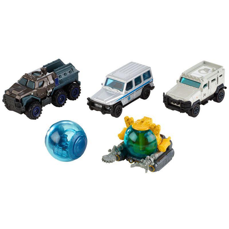Carrinhos Jurassic World 2 Pack com 5 Carrinhos FMX40 Mattel