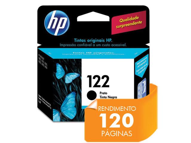 Cartucho de Tinta HP Suprimentos CH561HB HP 122 Preto 2ml