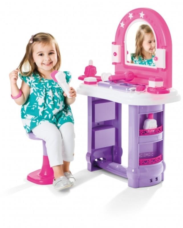 Casinha Brinquedo Penteadeira Infantil Miss Glamour Calesita 0320