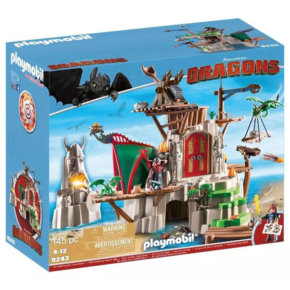 Castelo de Berk Como Treinar Seu Dragão Playmobil 1777 Sunny