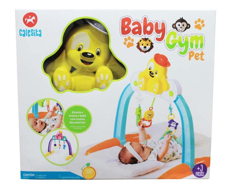 Centro de Atividades Infantil Mobile Baby Gym Pet 0909 Calesita