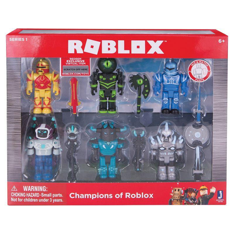 Conjunto de Bonecos Articulados Campeões de Roblox 10729 FUN