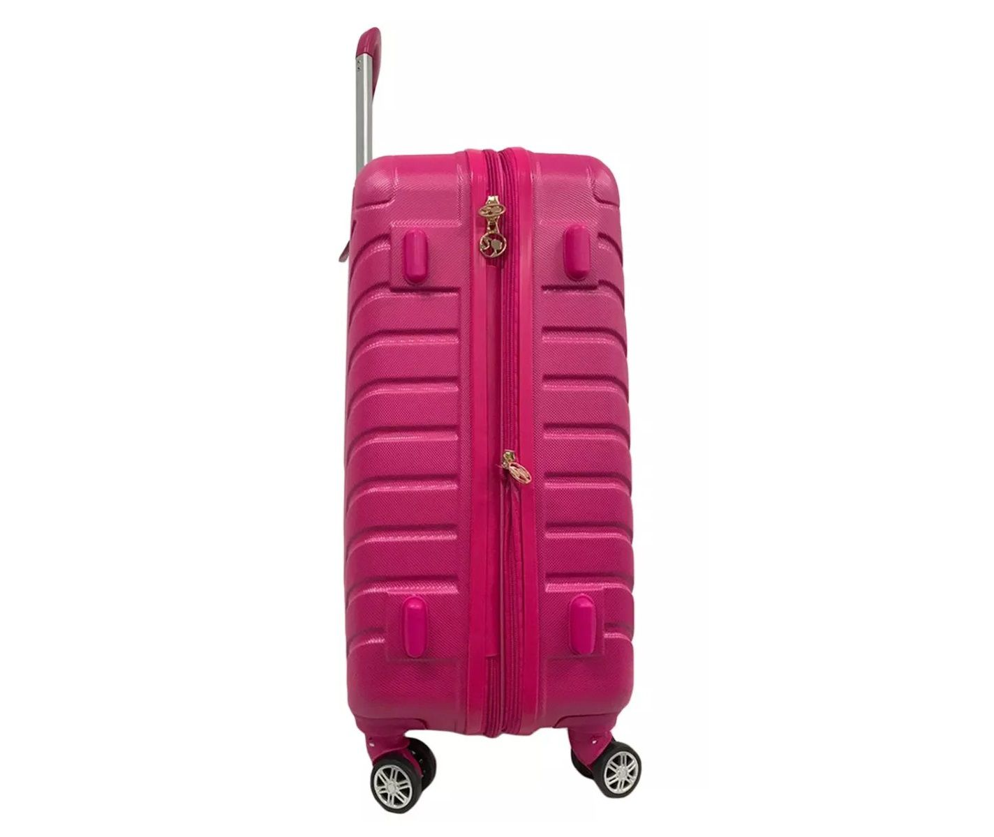 Mala de Viagem Barbie Rosa Rigida Giro 360 MF10171BB24