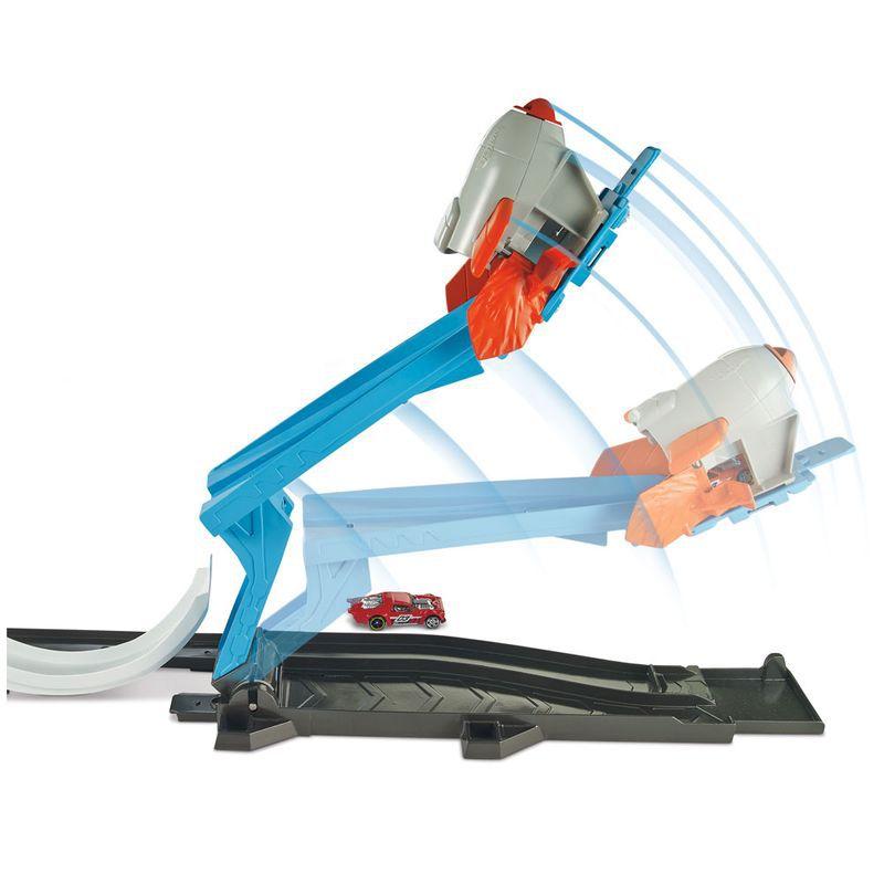 Conjunto Hot Wheels Desafio Lançador FLK60 Mattel