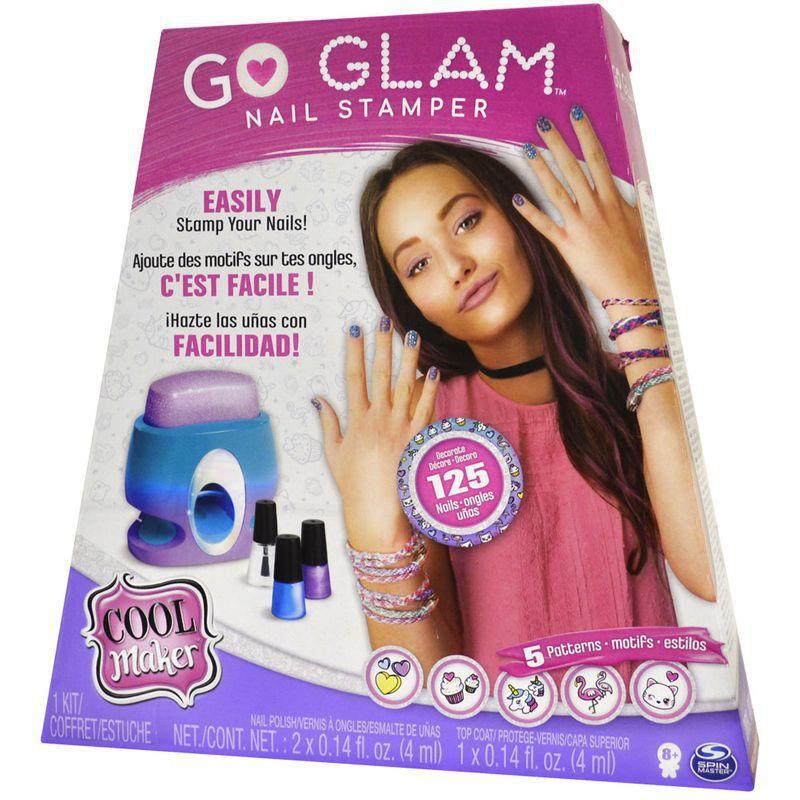 Conjunto para Pintura de Unhas Go Glam Printer Value 2130 Sunny