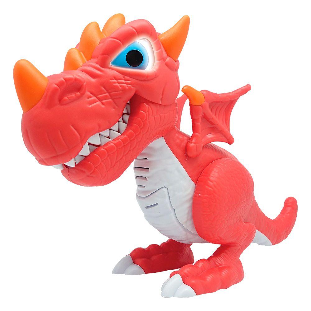 Dino Junior Megasaur Dragão Vermelho 82777 Fun Divirta-se