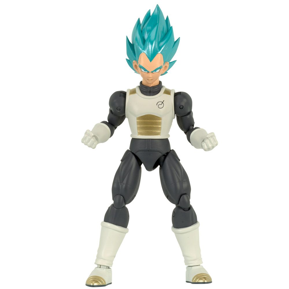 Dragon Ball Super Boneco Articulado Colecionável Blue Vegeta 35855N FUN