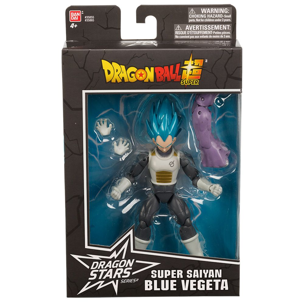 Dragon Ball Super Boneco Articulado Colecionável Blue Vegeta 35855N FUN
