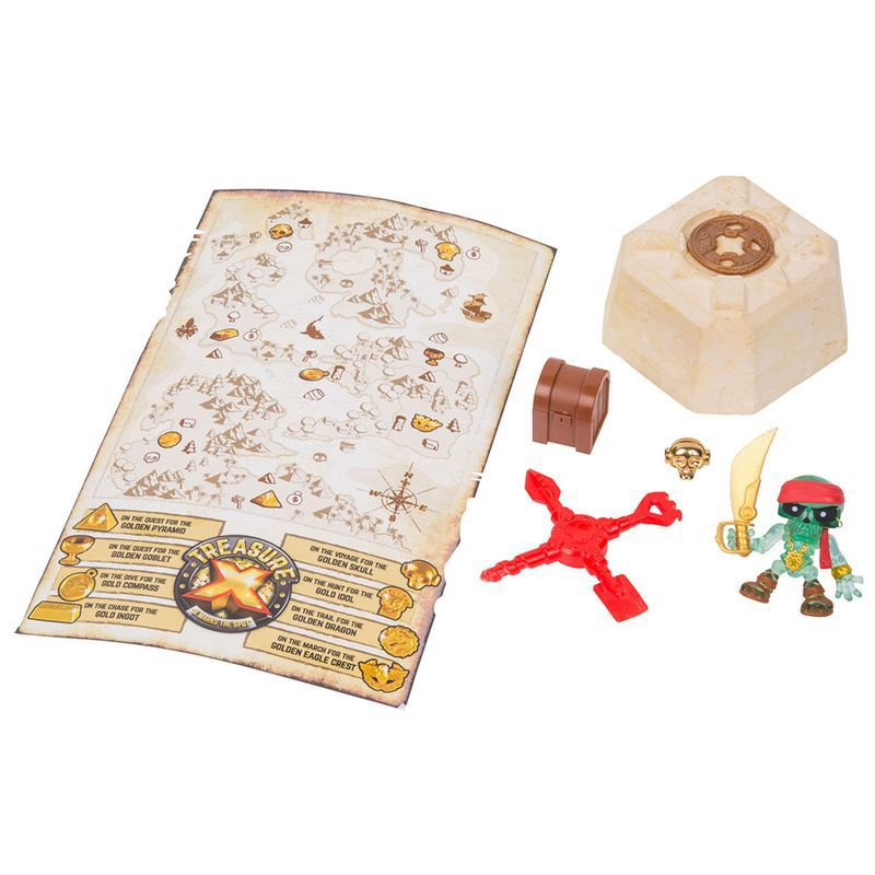Escava Prêmio Treasure X Moose Z Personagens Sortidos 5065 DTC
