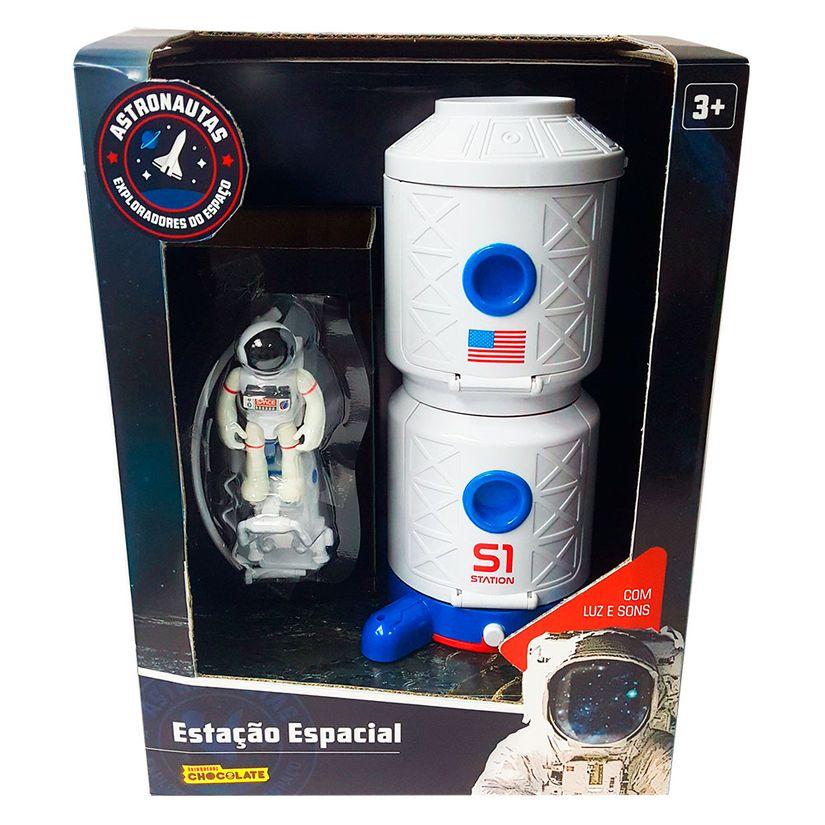 Estação Espacial com Astronauta - Fun Divirta-se