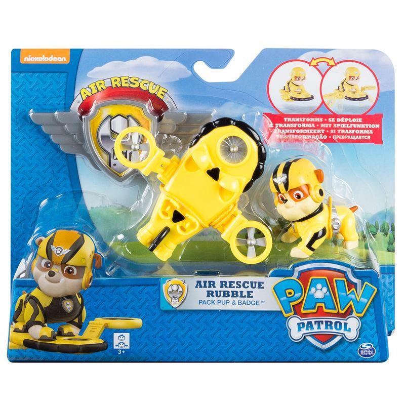 Figura Articulada - Patrulha Canina - Resgate Aéreo Rubble 1339 Sunny