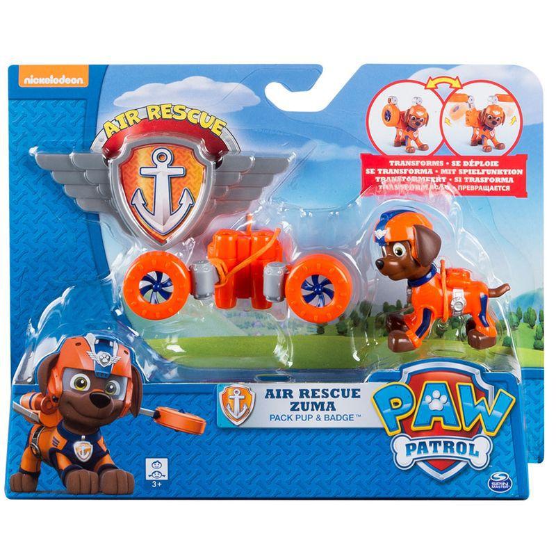 Figura Articulada - Patrulha Canina - Resgate Aéreo Zuma 1339 Sunny