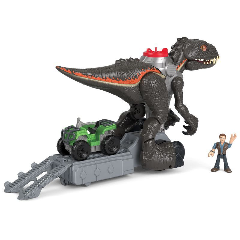 Figura Básica Imaginext Jurassic World 2 30 Cm Indoraptor FMX86 Fisher-Price