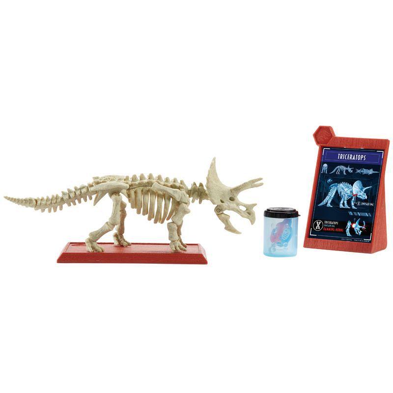 Figura Básica Jurassic World 2 Esqueleto Jurássico Triceratops FTF03 Mattel