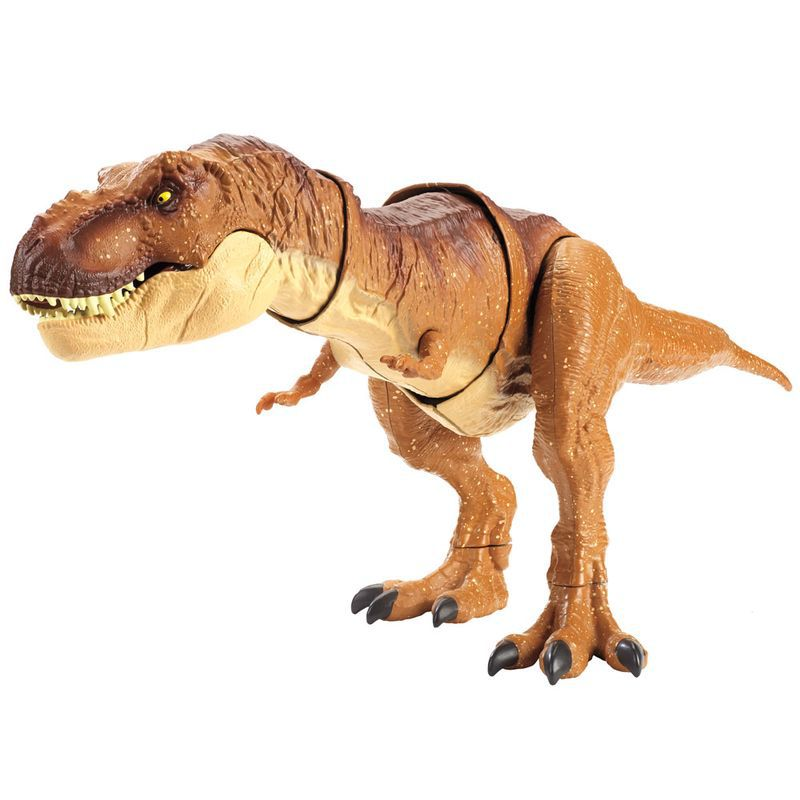 Figura Básica  Jurassic World 2 Mega Mordida Tiranossauro Rex FMY70 Mattel