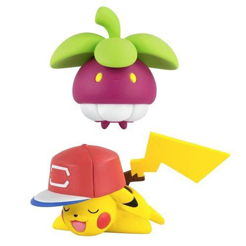 Figura de Ação Pokemon Battle Action Croquine VS Pikachu 1969 Sunny