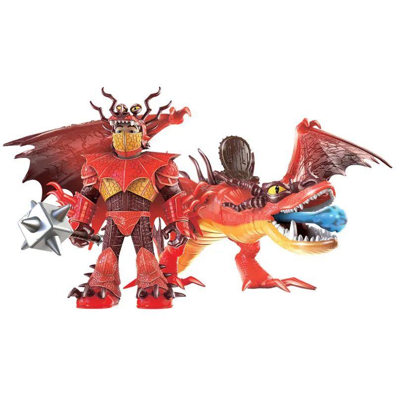 Figura e Acessórios - Como Treinar Seu Dragão - Dente de Anzol e Melequento 1452 Sunny