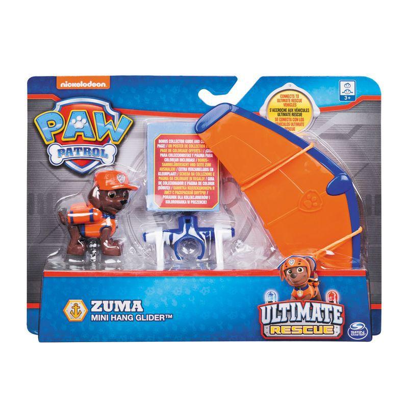 Figura e Mini Veículo Patrulha Canina Resgate Extremo Zuma & Hang Glider 1384 Sunny
