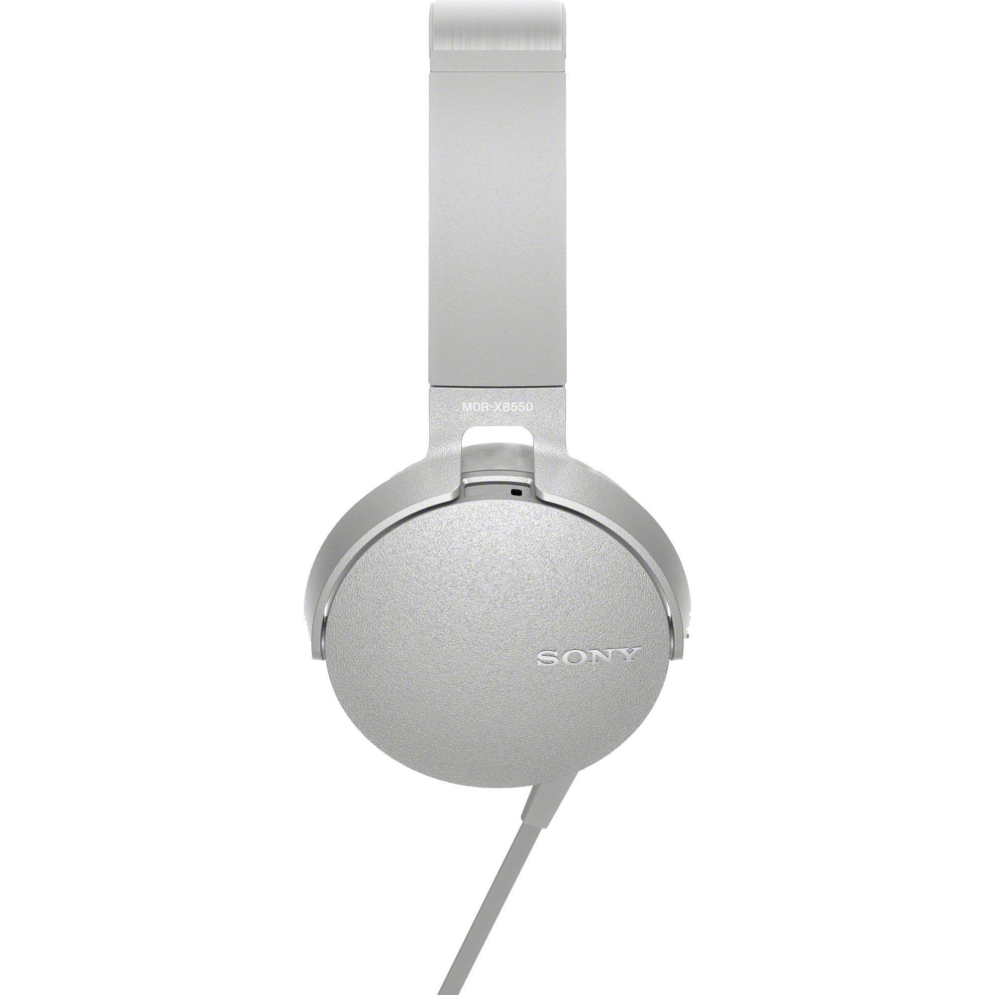 Fone de Ouvido com Microfone MDR-XB550AP/W Branco SONY