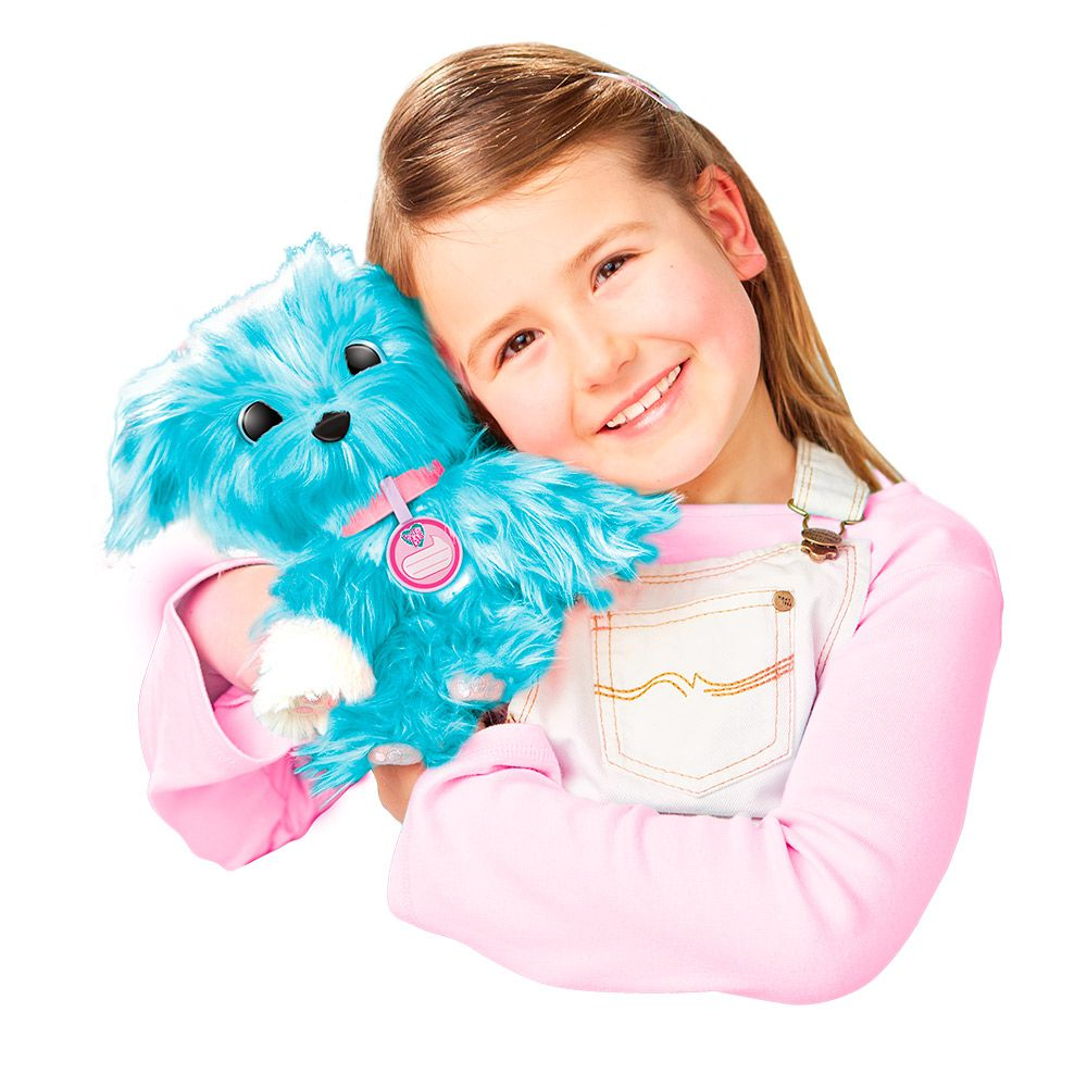 Fur Balls Pets Adotados Surpresa Azul 8411-8 Fun Divirta-se